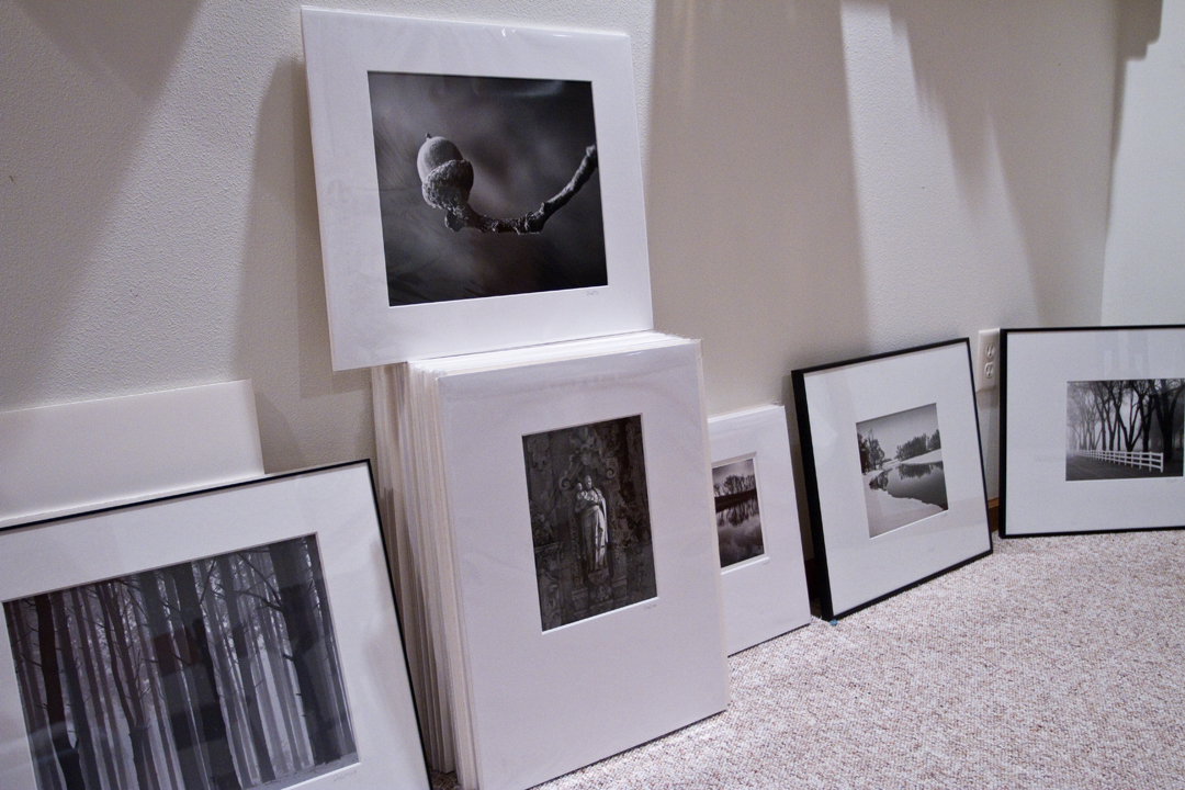 Fine art black and white photographs in the gallery will sell for $40 to $400. Only local artists will be represented.