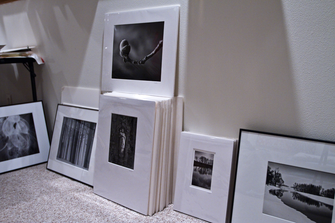 I'm preparing a lot of matted and ready-to-frame photographs for sale at Hatch Art House, on Willy Street in Madison.
