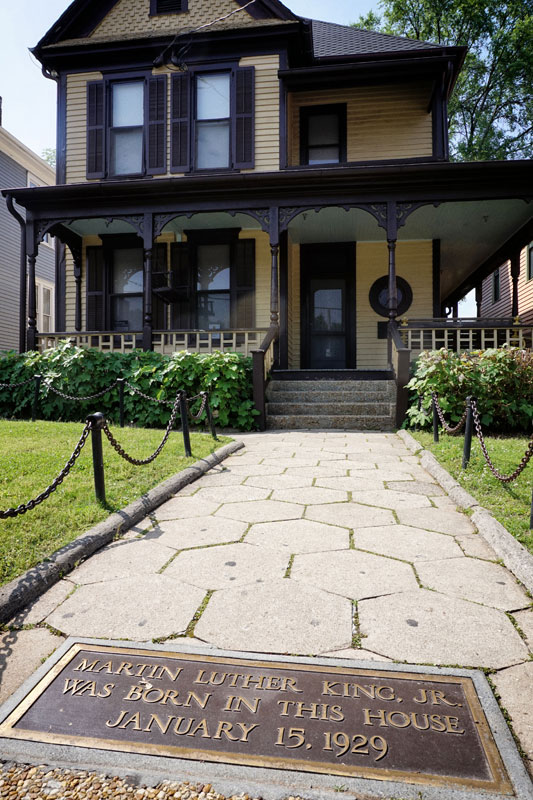 Martin Luther King's birth home.