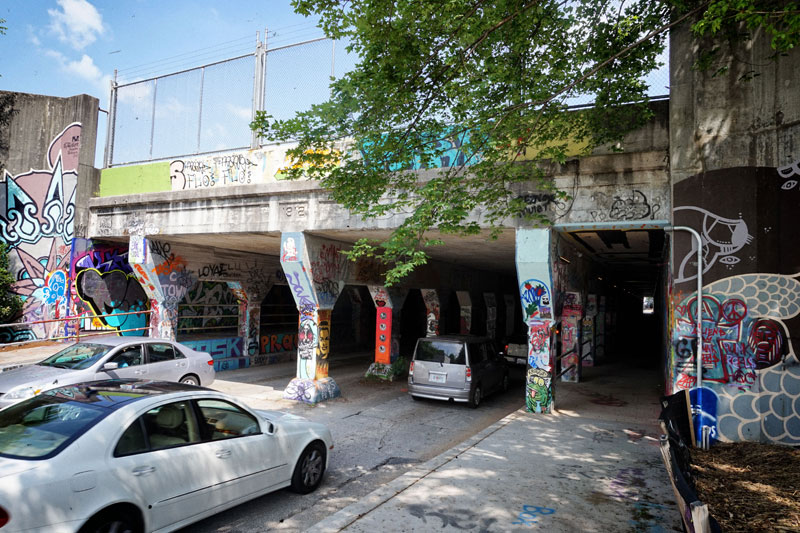 The Krog Street Tunnel in Cabbagetown