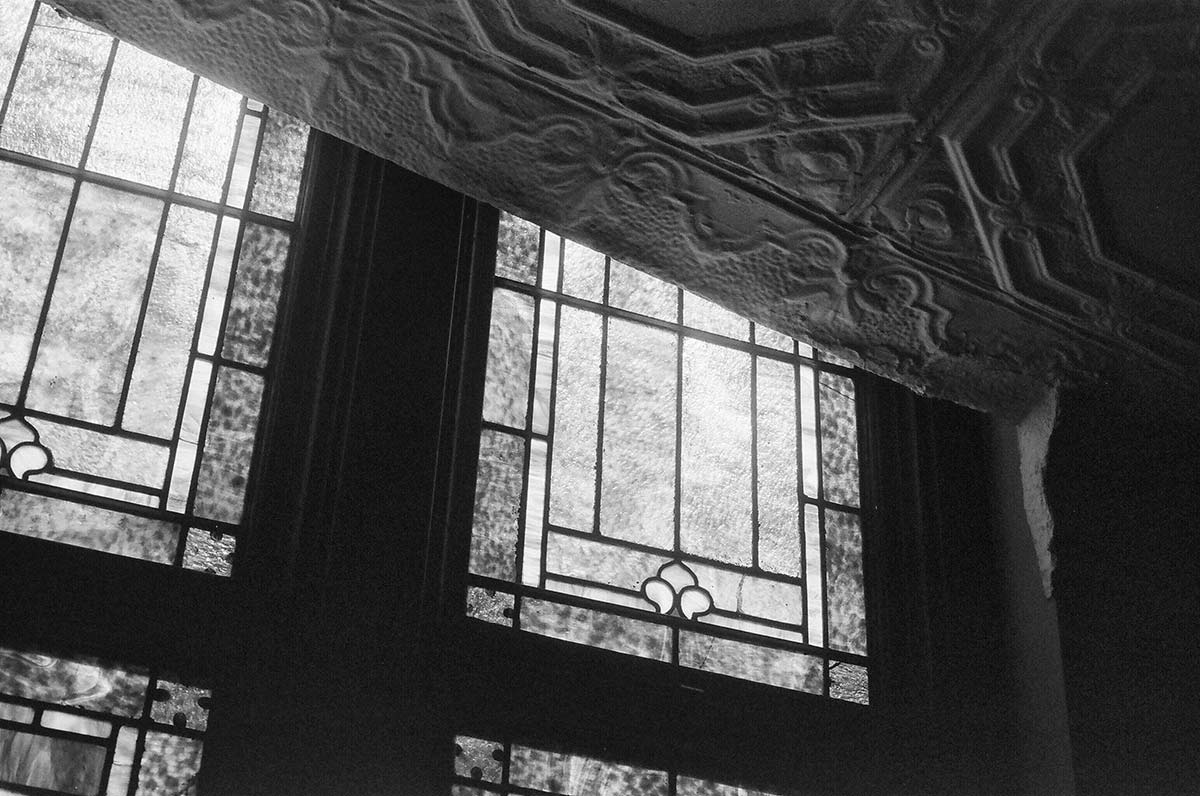 Architectural detail inside Ebenezer Baptist Church in Atlanta