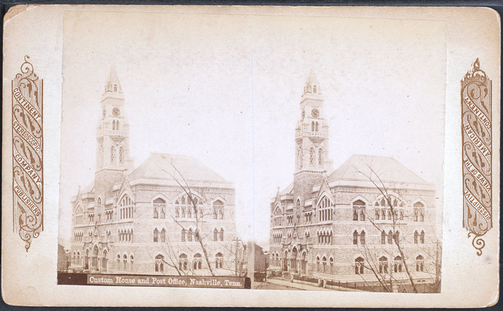 Custom House and Post Office, Nashville 1885