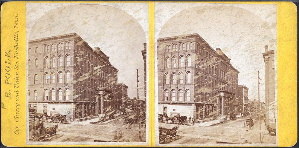 Original Maxwell House Hotel, Nashville 1870.