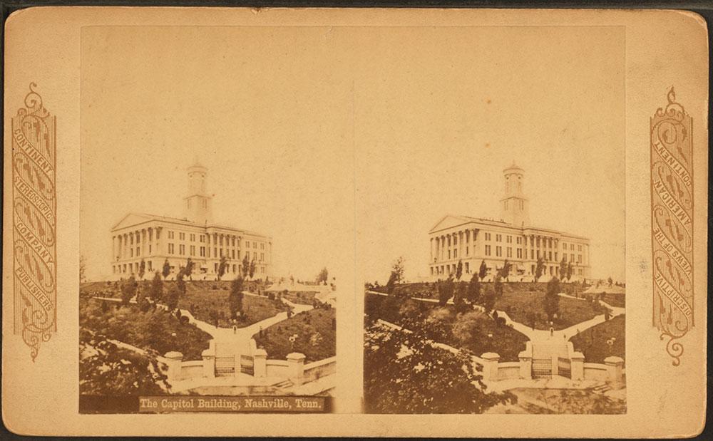 The Capitol Building, Nashville 1885