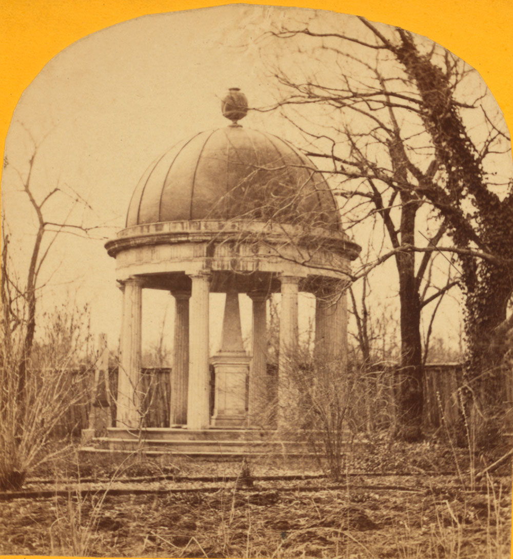 Tomb of General Andrew Jackson, 1871