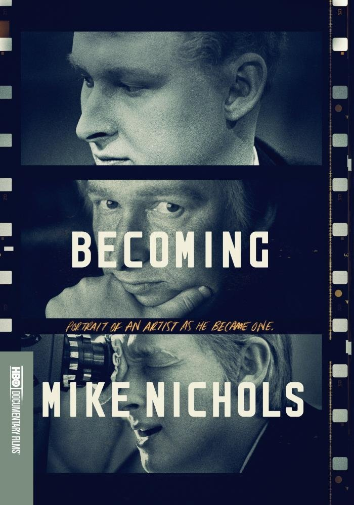 "Graphic for the outstanding HBO Documentary ""Becoming Mike Nichols"""