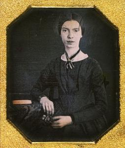 Until recently, this 1847 daguerreotype was the only known photograph of Emily Dickinson. Amherst College Archives & Special Collection.