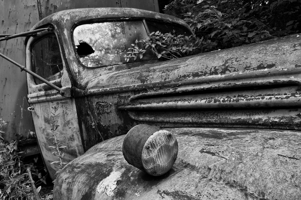 Found on Road Dead - Abandoned Delivery Truck (IMG_4968)