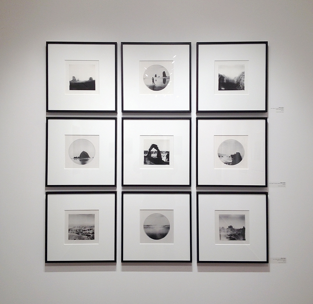 An arrangement of 9 kallitypes