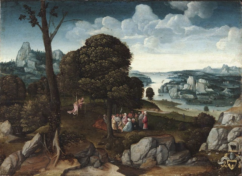 Landscape with Saint John the Baptist Preaching, 1515 - 1518 (Philadelphia Museum of Art)