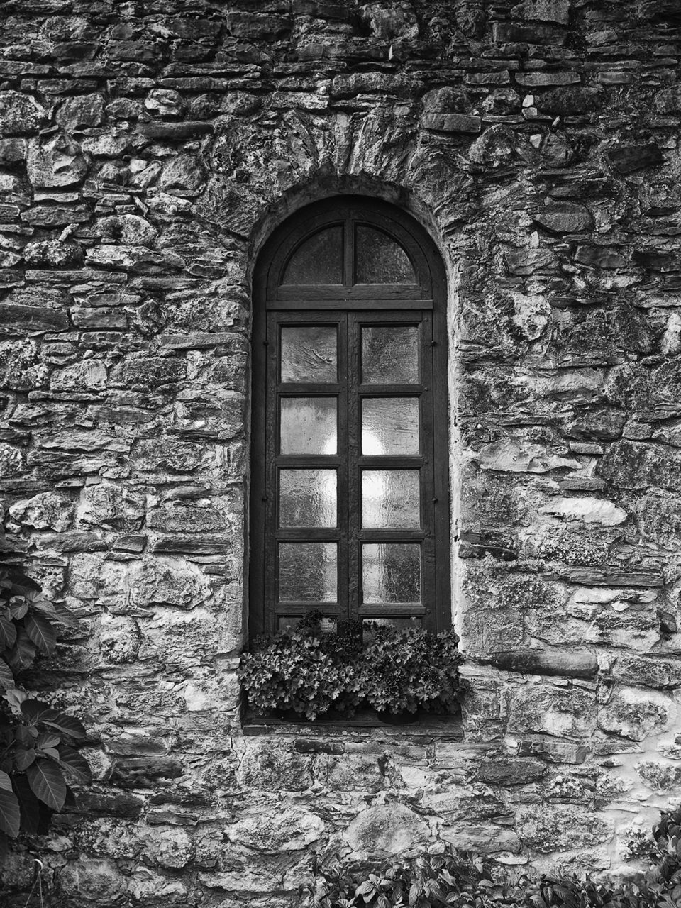 Window of an Old Spanish Mission in San Antonio, Texas. Buy a fine art print of this photo here.