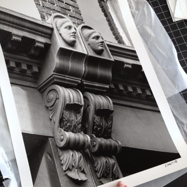 """""""The Ladies of Meeting Street,"""" printed on silver gelatin baryta paper at 16 x 24 inches"""