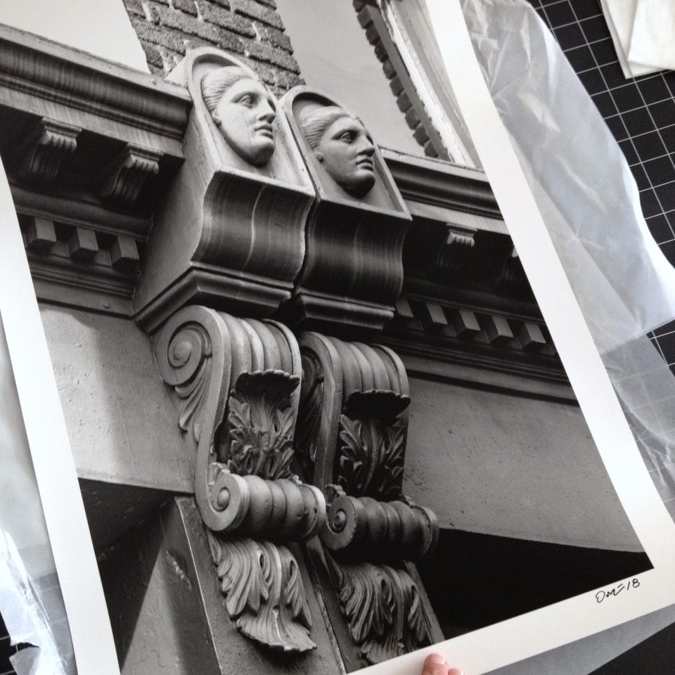 """The Ladies of Meeting Street,"" printed on silver gelatin baryta paper at 16 x 24 inches"