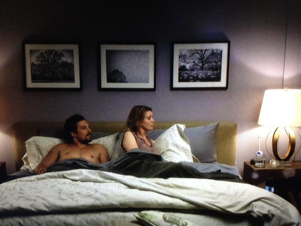 Three Keith Dotson Photos on Grey's Anatomy, season 15