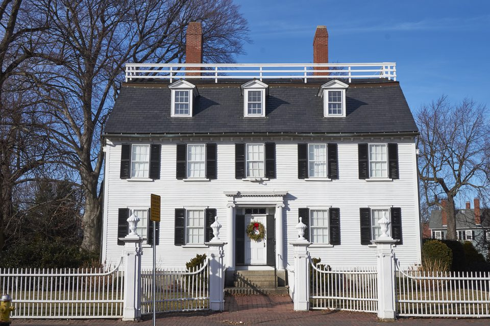 The Ropes Mansion at 318 Essex Street provided the exterior of Allison's house, where Max and Dani talked Allison into visiting the old Sanderson house.
