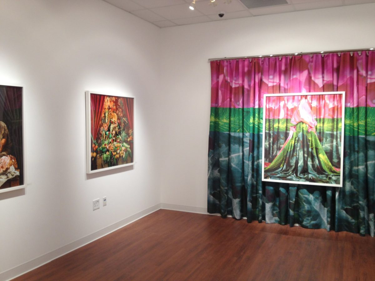 A view of Patty Carroll's exhibition of Anonymous Women in Tennessee