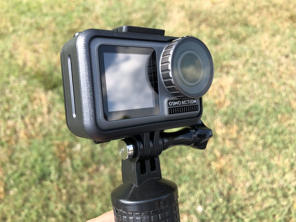Fine art photographer tests video quality from the new DJI Osmo Action camera