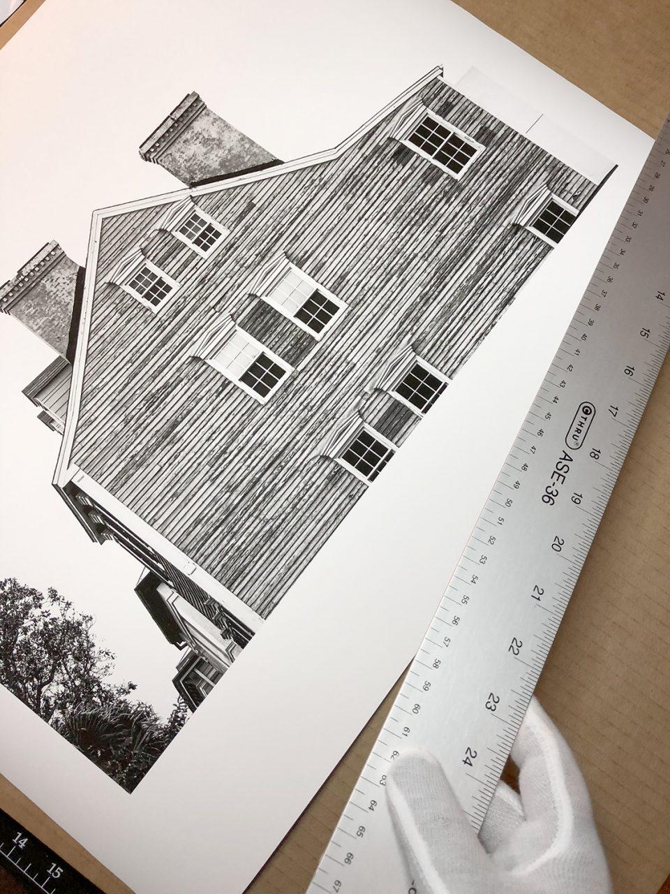 Historic Clapboard Houses in Savannah, Georgia. Buy a signed, fine art print here.