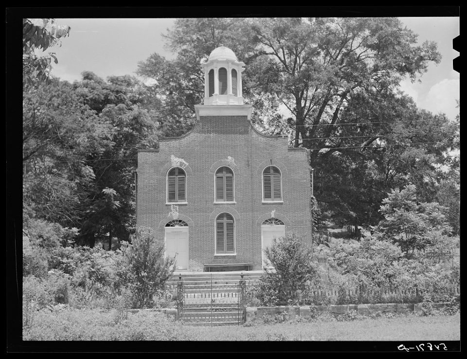 Presbyterian Church in Rodney, Mississippi; Marion Post Wolcott, 1940; Library of Congress Prints and Photographs Division, Washington, D.C.