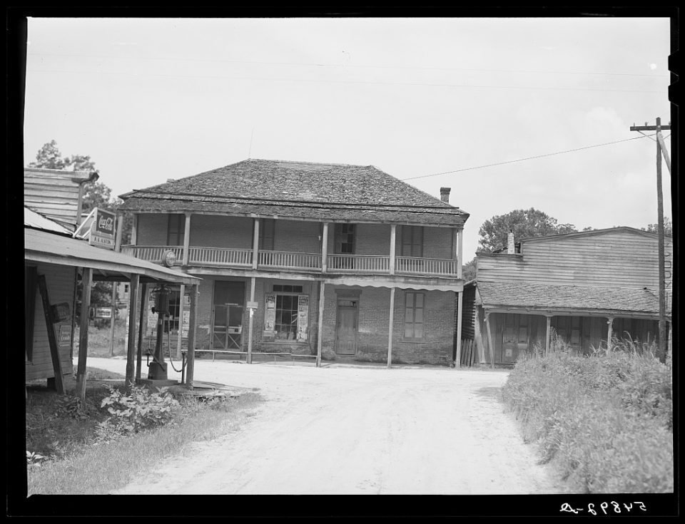 Rodney, Mississippi; Marion Post Wolcott, 1940; Library of Congress Prints and Photographs Division, Washington, D.C.
