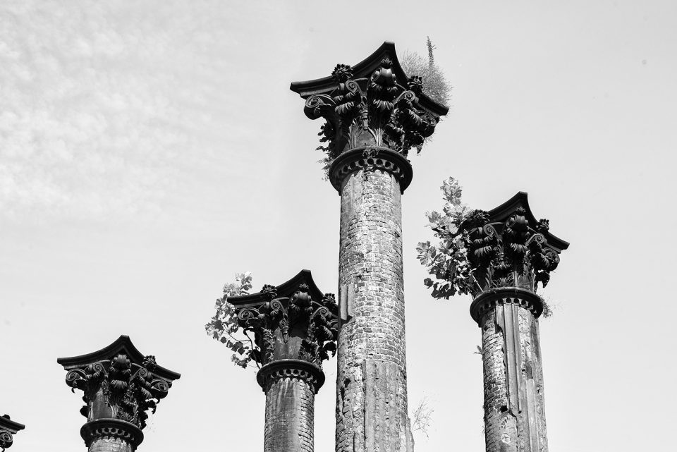 Columns at windsor ruins mississippi