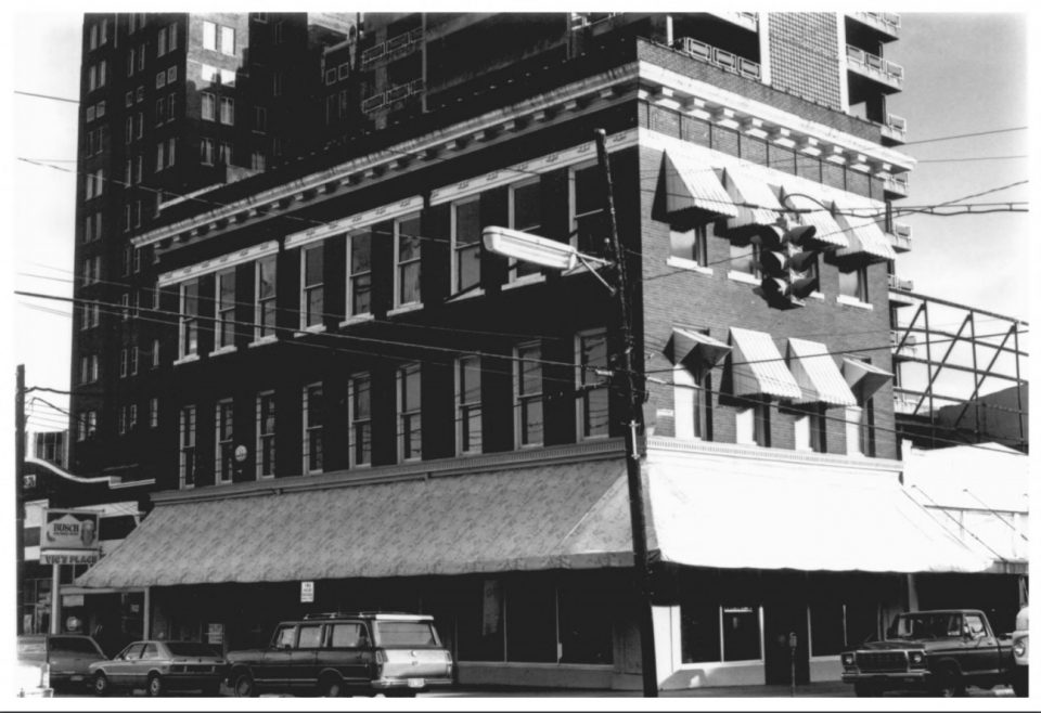 Photograph from the Mississippi Department of Archives and History: NIOLON BUILDING, Meridian, Lauderdale County, Mississippi, Jody Cook -- January, 1979, 718 23rd Avenue, Photo 28