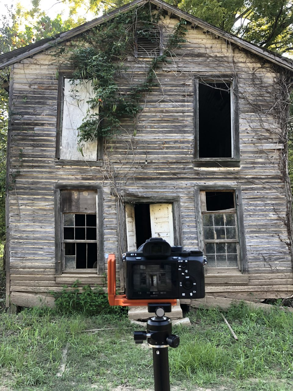 This photograph was taken on the site of the ghost town, a surprise location I didn't know existed until a few days ago.