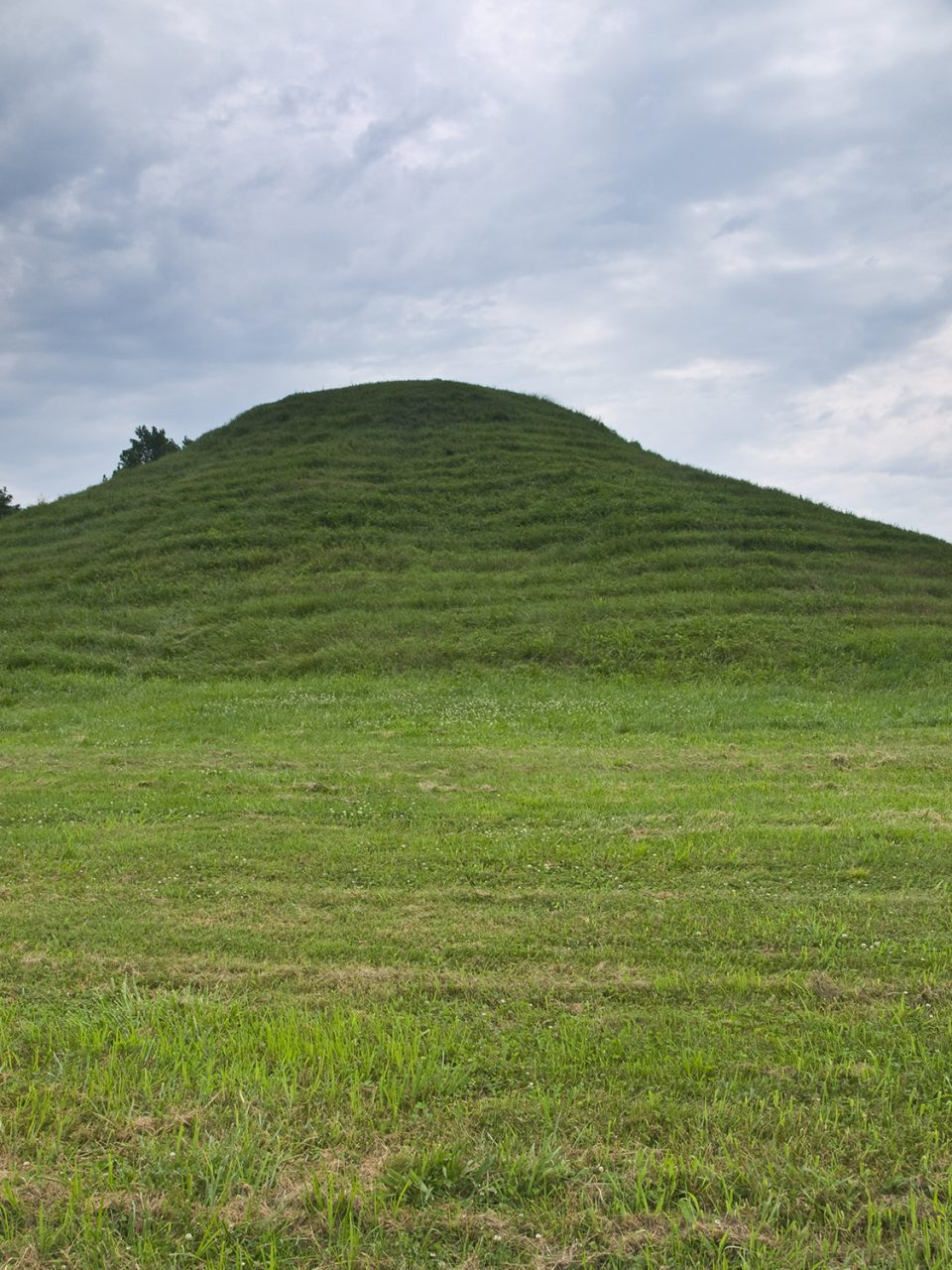 Cone mound at Cahokia, Illinois