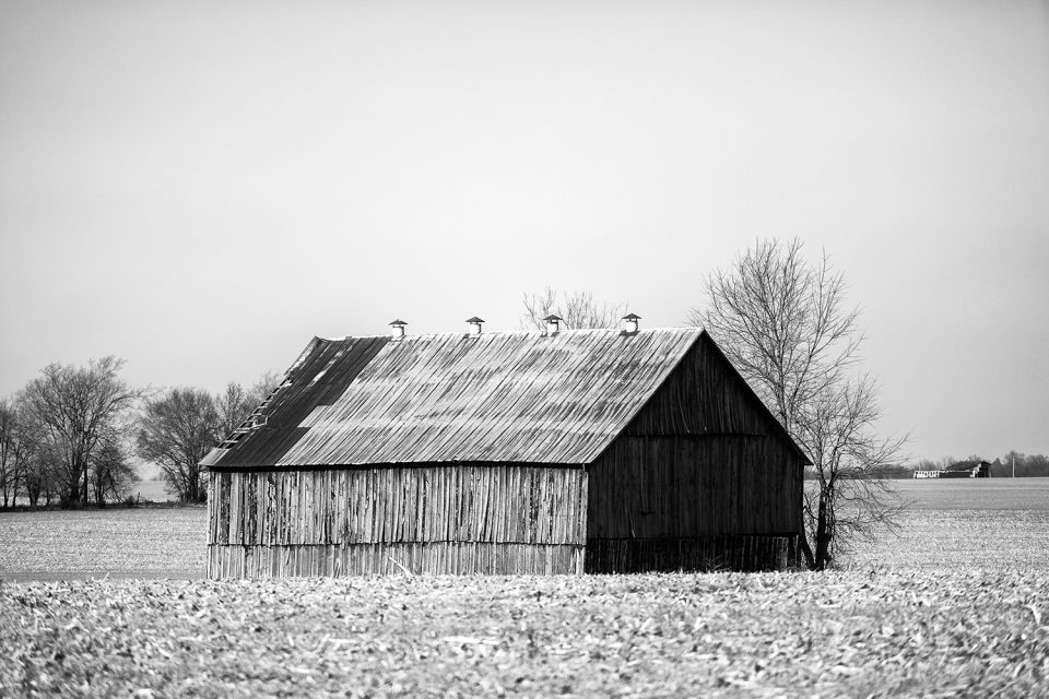 Hopkinsville is located amidst the bucolic landscape of western Kentucky where the south meets the midwest. Black and white photograph by Keith Dotson.