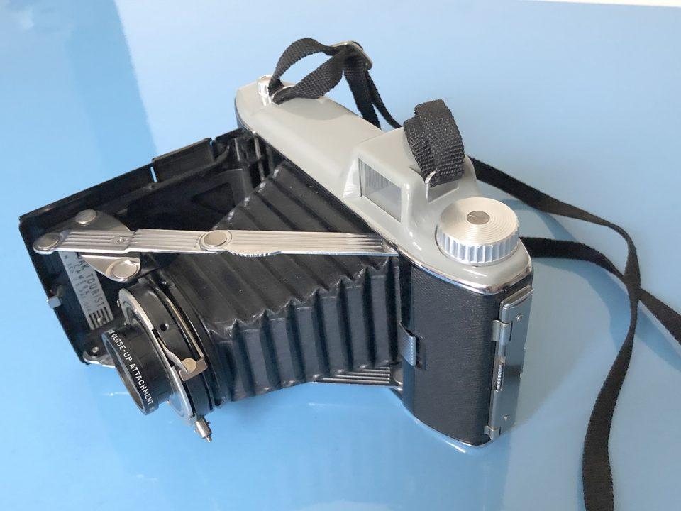 Kodak Tourist folding camera. Photograph by Keith Dotson.