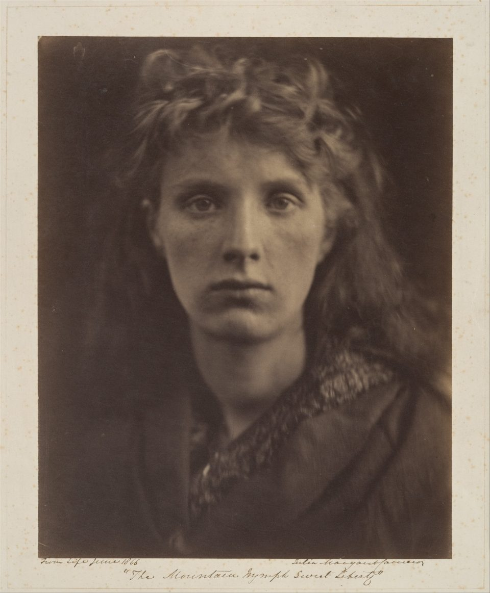 The Mountain Nymph Sweet Liberty, 1866, by Julia Margaret Cameron. Courtesy of The Met.