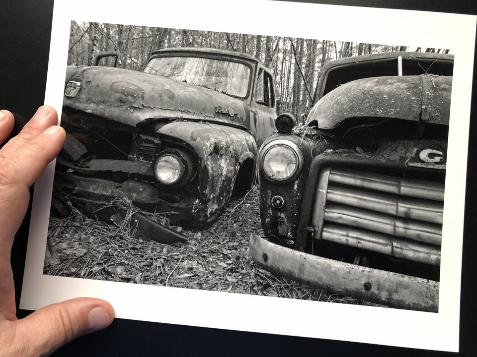 Stunning range of tones and surface that practically sparkles -- Hahnemühle Photo Rag Baryta