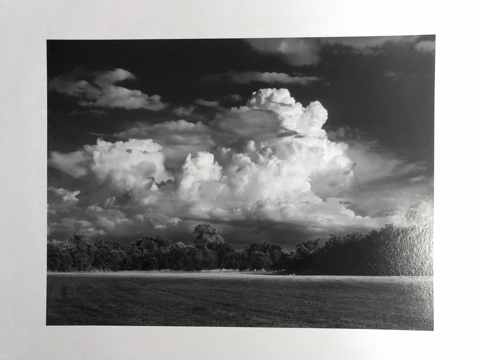 This landscape photograph with a magnificent thundercloud was made in in Central Texas in 2005-6, early in my photography career.