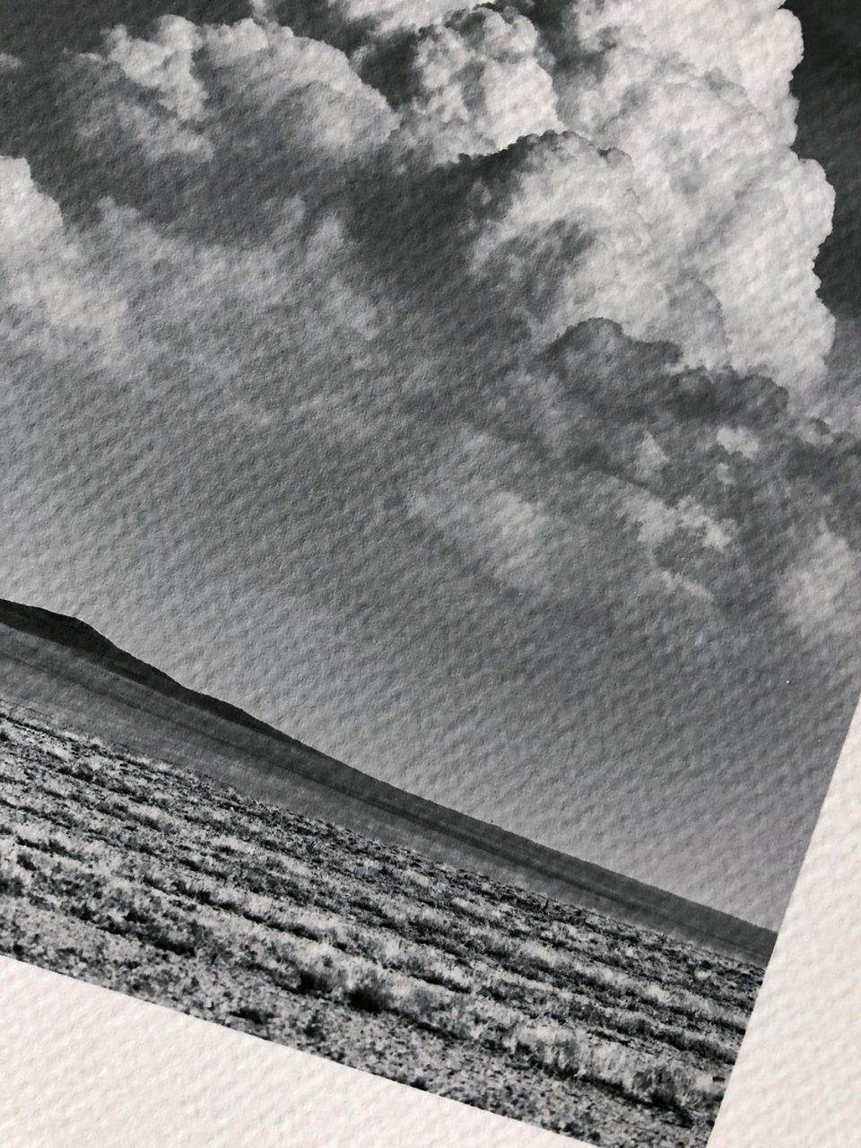 Sample print on Canson Infinity Aquarelle Rag.