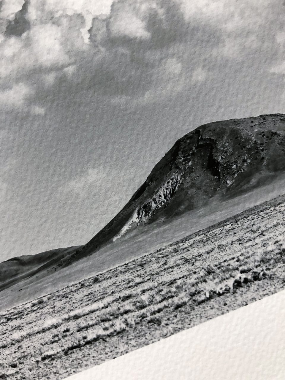 Sample print on Canson Infinity Velin Museum Rag.