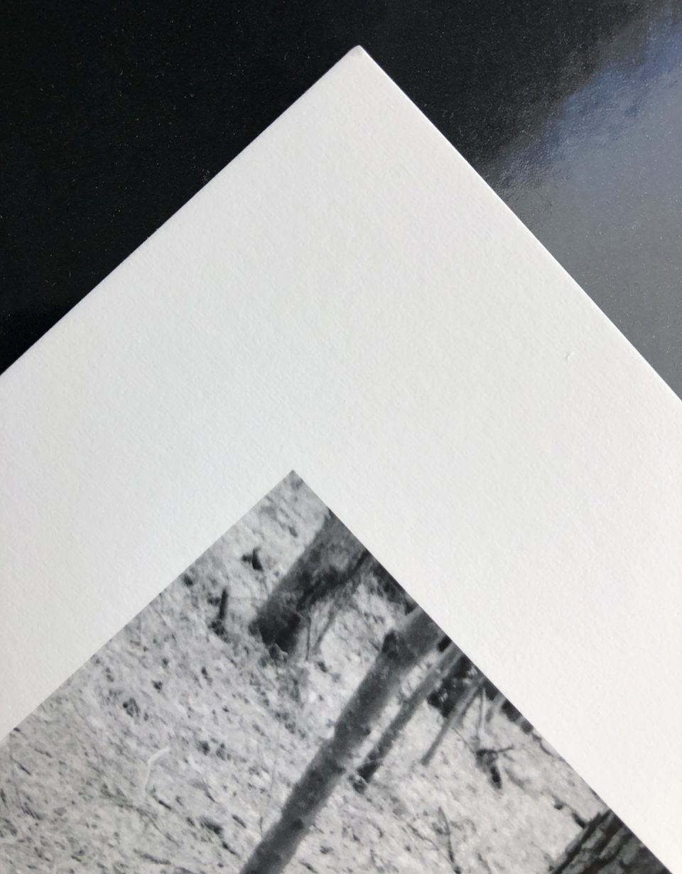 The printing side of Canson Infinity Arches 88 is smooth
